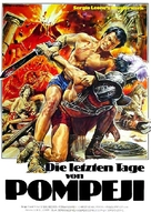 Ultimi giorni di Pompei, Gli - German Movie Poster (xs thumbnail)