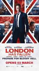 London Has Fallen - Singaporean Movie Poster (xs thumbnail)