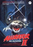Alligator II: The Mutation - German Movie Poster (xs thumbnail)