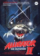 Alligator II: The Mutation - German VHS movie cover (xs thumbnail)