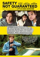 Safety Not Guaranteed - Canadian DVD movie cover (xs thumbnail)