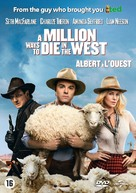 A Million Ways to Die in the West - Dutch DVD movie cover (xs thumbnail)