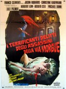 Murders in the Rue Morgue - Italian Movie Poster (xs thumbnail)