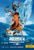 Ice Age: Continental Drift - Hungarian Movie Poster (xs thumbnail)
