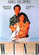 Wind - German Movie Poster (xs thumbnail)