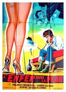 L'inferno addosso - French Movie Poster (xs thumbnail)