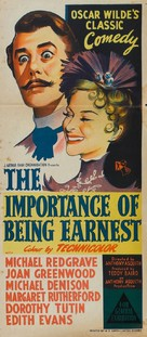 The Importance of Being Earnest - Australian Movie Poster (xs thumbnail)