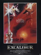 Excalibur - French Movie Poster (xs thumbnail)