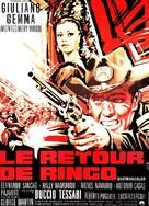 Il ritorno di Ringo - French Movie Poster (xs thumbnail)