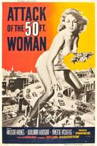 Attack of the 50 Foot Woman - Movie Poster (xs thumbnail)