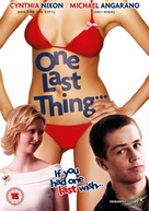 One Last Thing... - British Movie Cover (xs thumbnail)