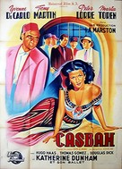 Casbah - French Movie Poster (xs thumbnail)
