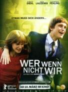 Wer wenn nicht wir - German Movie Poster (xs thumbnail)
