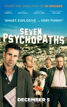 Seven Psychopaths - British Movie Poster (xs thumbnail)