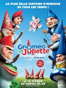 Gnomeo and Juliet - French Movie Poster (xs thumbnail)