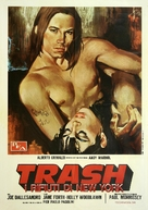 Trash - Italian Movie Poster (xs thumbnail)