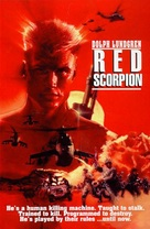 Red Scorpion - DVD cover (xs thumbnail)