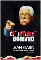 L'affaire Dominici - French VHS cover (xs thumbnail)