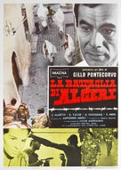 La battaglia di Algeri - Italian Movie Poster (xs thumbnail)