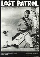 The Lost Patrol - German Movie Poster (xs thumbnail)