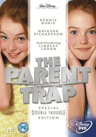 The Parent Trap - British DVD movie cover (xs thumbnail)