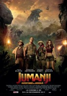 Jumanji: Welcome to the Jungle - Romanian Movie Poster (xs thumbnail)