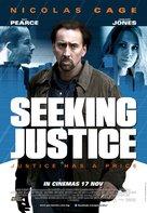 Seeking Justice - Malaysian Movie Poster (xs thumbnail)