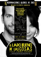 Silver Linings Playbook - Chilean Movie Poster (xs thumbnail)