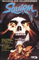 Squirm - German VHS cover (xs thumbnail)