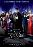 Dark Shadows - Dutch Movie Poster (xs thumbnail)