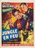 Swamp Fire - Belgian Movie Poster (xs thumbnail)