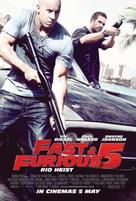 Fast Five - Malaysian Movie Poster (xs thumbnail)