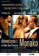 La fille de Monaco - Polish Movie Poster (xs thumbnail)