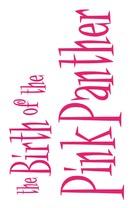 The Pink Panther - Logo (xs thumbnail)