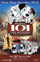 One Hundred and One Dalmatians - Video release movie poster (xs thumbnail)