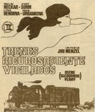 Ostre sledované vlaky - Spanish Movie Poster (xs thumbnail)