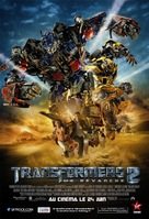 Transformers: Revenge of the Fallen - French Movie Poster (xs thumbnail)