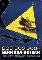 The Bermuda Triangle - German Movie Poster (xs thumbnail)