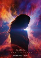 X-Men: Dark Phoenix - Icelandic Movie Poster (xs thumbnail)