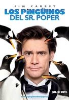 Mr. Popper's Penguins - Spanish Movie Poster (xs thumbnail)