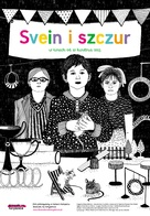 Svein og rotta - Polish Movie Poster (xs thumbnail)