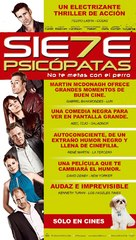 Seven Psychopaths - Chilean Movie Poster (xs thumbnail)