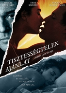 Indecent Proposal - Hungarian Movie Poster (xs thumbnail)