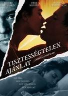 Indecent Proposal - Hungarian Movie Poster (xs thumbnail)