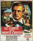 Le comte de Monte Cristo - French Movie Poster (xs thumbnail)
