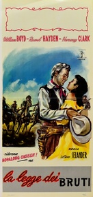Partners of the Plains - Italian Movie Poster (xs thumbnail)