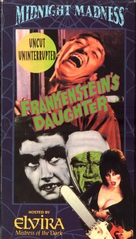 Frankenstein's Daughter - VHS movie cover (xs thumbnail)