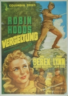 Rogues of Sherwood Forest - German Movie Poster (xs thumbnail)