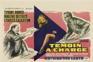Witness for the Prosecution - Belgian Movie Poster (xs thumbnail)