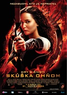 The Hunger Games: Catching Fire - Slovak Movie Poster (xs thumbnail)